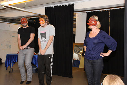 Mask och Commedia dell Árte
